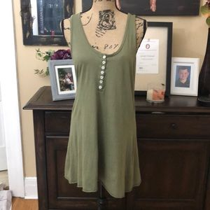 Michael Stars olive T-Shirt Dress